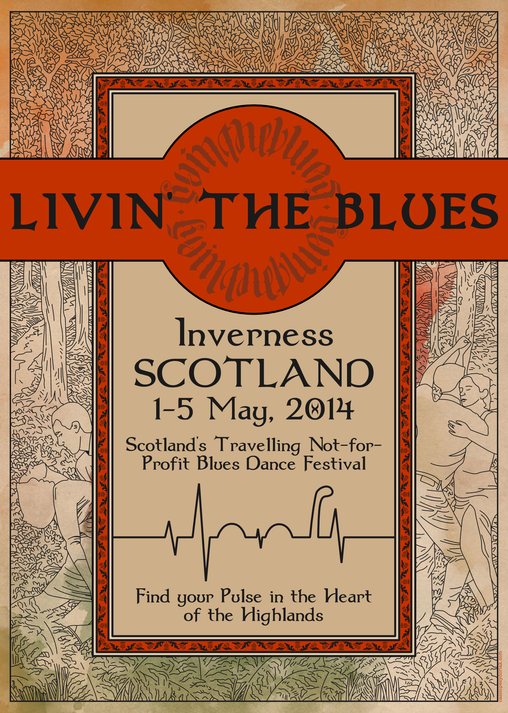 Livin' the Blues, Inverness, Scotland